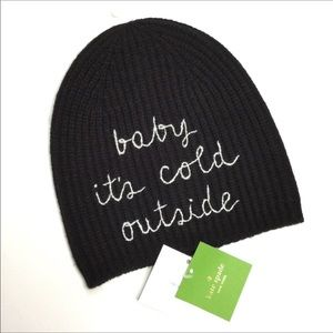 kate spade Accessories - Kate Spade New York baby it's cold outside beanie